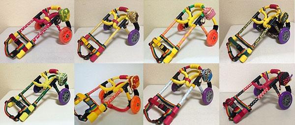 プラスワンペット用車椅子